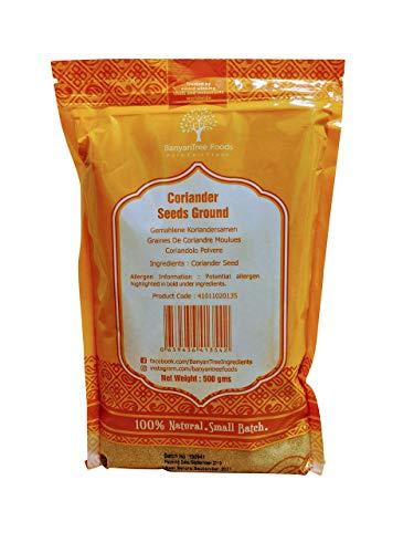 Poudre de Graines de Coriandre fraîche Grand Pack Refermable 500g