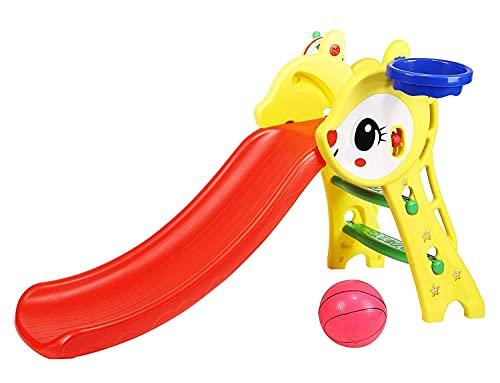 KIDDIE FUN Playtool Rabbit Slide for Kids Indoor / Out Door and Garden Age -2 to 4 Years L130 x B 50 x H70 cm