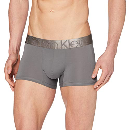 Calvin Klein Low Rise Trunk sous-vêtement, Grey Sky, XL Mixte