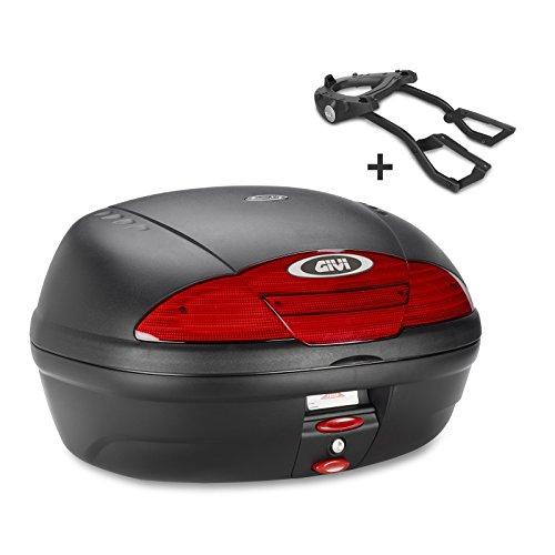 Top Case Set para Honda CBR 125 R 05-10 Givi Monolock E450N, 45 l, negro