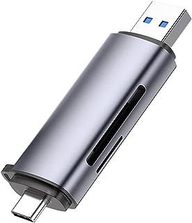 Adaptador Ugreen Cm184 Usb Tipo C e Usb Tpo A para Cartão Micro Sd e Cartão SD Protocolo de Interface 3.1 Gen 1 Plug and P...