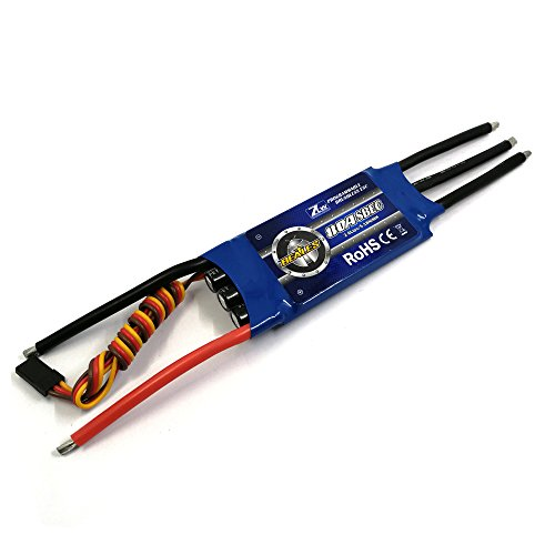 ZTW Beatles 80A ESC with SBEC 5.5V/5A 2-6S for Rc Airplane (80A ESC)