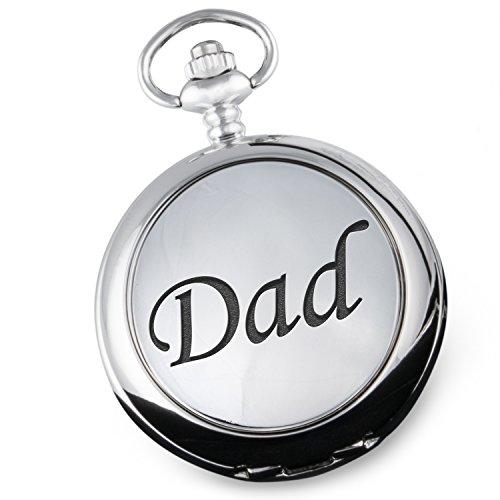 Taschenuhr, für den Vater, Weihnachten, Geburtstag, Geschenk zum Ruhestand, Vatertagsgeschenk