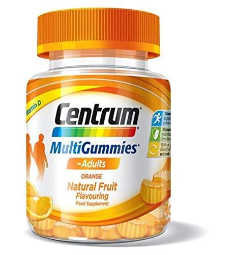 Centrum Multigummies Orange 30 Gummies, 104 g