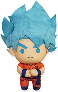 Great Eastern Dragon Ball Super GE-52368 Ssgss Super Saiyan Blue God Goku Plush Stuffed Plush