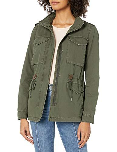 Levi's Chaqueta militar ligera de algodón paracaídas para mujer (tallas estándar y grandes) - verde - XS