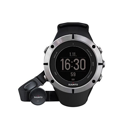 Why Choose Suunto Ambit2 Sapphire Heart Rate Monitor Black/Silver, One Size