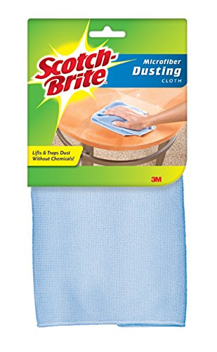 Scotch-Brite Dusting Microfiber Cloth, Colors May Vary