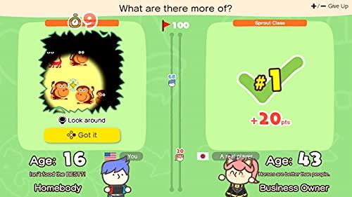 41VoCYrVw3L. SL500  - Big Brain Academy: Brain vs. Brain - Nintendo Switch