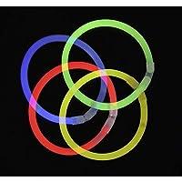 7 knallbunte Farben: Rot, Gelb, Grün, Blau, Pink, Orange, Kaltweiß. Leuchtdauer bis zu acht Stunden und mehr (abhängig von der Umgebungstemperatur) Gratis dreifach Steckverbinder ermöglichen einzigartige Leuchteffekte am Arm Extra lange, flexible Ste...