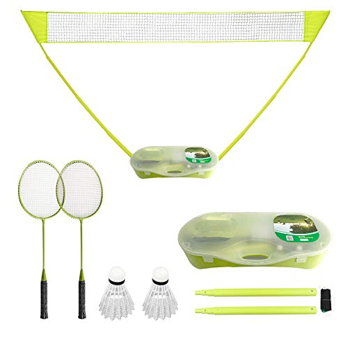 FBSPORT Set de Badminton Portable, Filet de...
