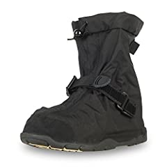 160 denier nylon upper and waterproof membrane provide excellent protection against wind, rain and puddles; extra wide opening gusset for easy on/off Lightweight design helps prevent foot and leg fatigue; adjustable hook and loop closure system for s...