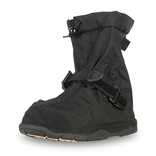NEOS 11' Villager Nylon All Season Waterproof Overshoes (VIS1), Black, Large