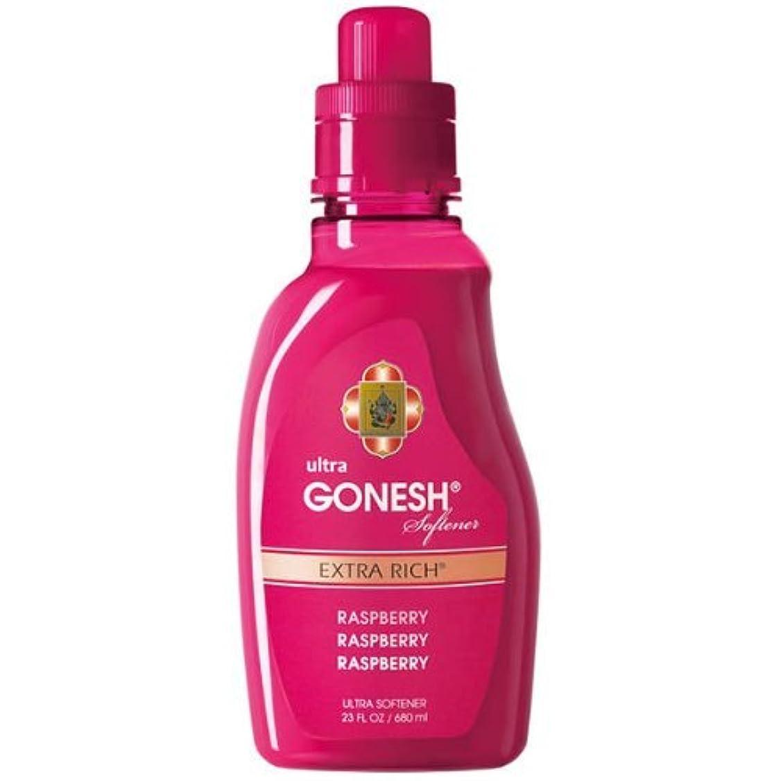 受取人ペルー逮捕GONESH(ガーネッシュ)ウルトラソフナー ラズベリー 680ml 柔軟剤 (ラズベリーの香り)