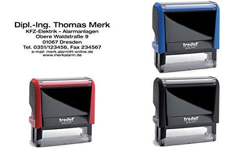 Preisvergleich Produktbild trodat 53538 Textstempelautomat Printy 4915 4.0,  7-zeilig
