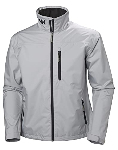 Helly Hansen Crew Jacket, Giacca Uomo, Grey Fog, L