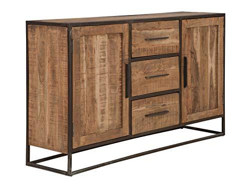 massivum Oklahoma Sideboard, Akazienholz, Natur, BxHxT 150x90x40 cm
