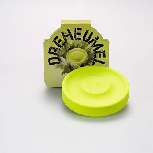 Dreheumel Mini-Frisbee - Die kleine Frisbee Wurfscheibe mit bis zu 60 Metern Wurfweite - Das perfekte Outdoor Spielzeug für den Sommer - Made in Germany