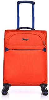 Verage Flight 55cm Small Carry On Suitcase Orange
