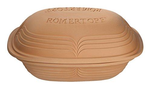 Reston Lloyd Clay Pot, 4.1 Quart, Tan