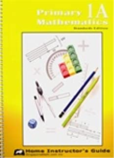 Primary Mathematics 1A: Standards Edition, Home Instructor's Guide