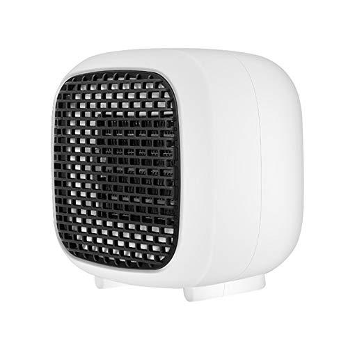 HKIASQ Calentador De Ventilador, Calentador Portátil, Calentador Eléctrico De Espacio Calentamiento Rápido, Eficiente Y Rápido, Protección contra Vuelcos Y Sobrecalentamiento