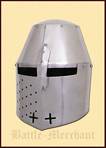 Grand casque Towcester, pour 1370, 1,2mm Acier-Pot-Casque-Tournoi médiéval