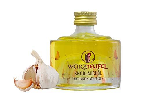 Knoblauchöl, reines Knoblauch - Öl kalt gepresst. Naturrein, ätherisch. Spitzenqualität. Flasche 40ml.