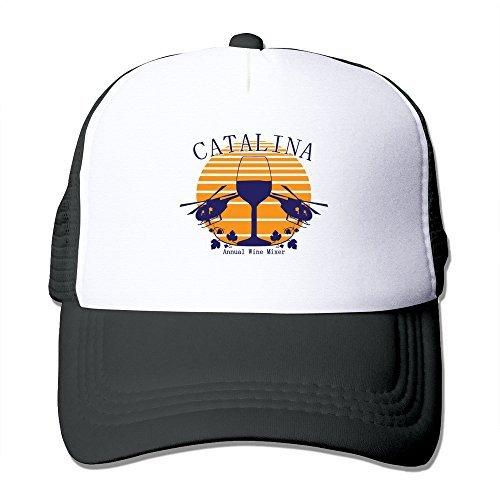 Catalina Wine Mixer Sports Hats Cap Black Man/Woman