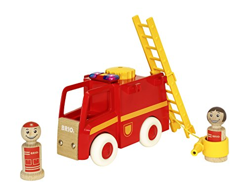 BRIO BRIO My Home Town 30383 - Feuerwehrauto mit Licht und Sound