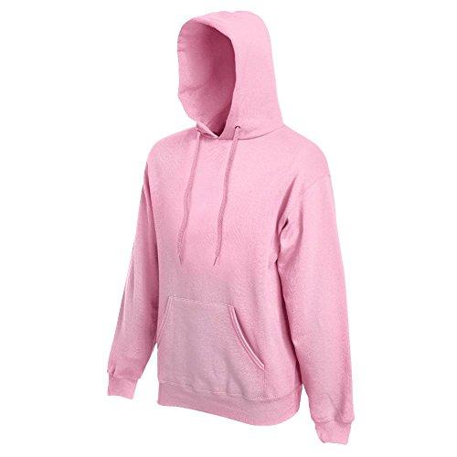 Fruit of the Loom - Kapuzen-Sweatshirt 'Hooded Sweat' M,Light Pink