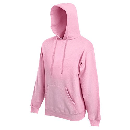 Fruit of the Loom - Kapuzen-Sweatshirt 'Hooded Sweat' M,Light Pink