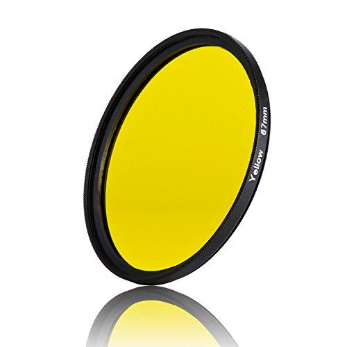 67 mm amarillo completo color especial lente filtro protector de lente para...