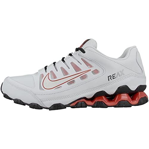 Nike Low Reax 8 TR Mesh - Zapatillas deportivas para hombre, Pure Platinum 621716 027 - Plateado metálico, 47 EU