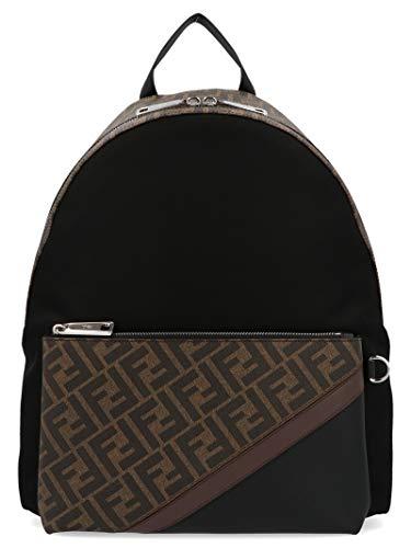 Fendi Luxury Fashion Herren 7VZ042A9XTF199B Schwarz Synthetisch Fasern Rucksack | Herbst Winter 20