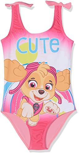 Pat patrouille Mädchen Badeanzug 5617 Rose Fushia, 6 Jahre