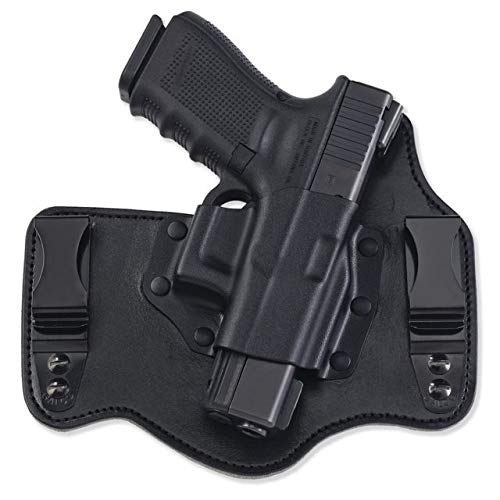 Galco Kingtuk IWB Leather Holsters, S&W M&P Shield .45, Right Hand, Kydex/Premium Steerhide KT826B