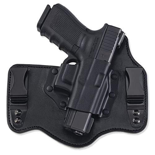 Galco Kingtuk IWB Leather Holsters, S&W M&P Shield .45, Right Hand, Kydex/Premium Steerhide KT826B