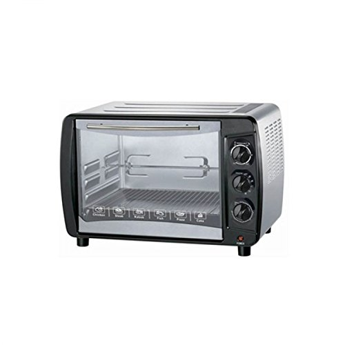 Sharp E0-35K 1500W Electric Toaster Oven, 35L/1.3 Cu. Ft, Stainless Steel 220V (Not for USA - European Cord)