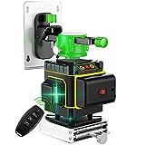 12 linee 3D Autolivellante Livello laser 360X3 Orizzontale Verticale Croce Linea diritta/inclinata...