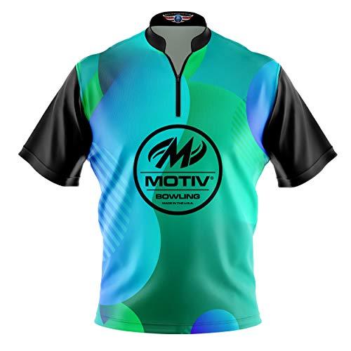 Logo Infusion Bowling Dye-Sublimated Jersey (Sash Collar) - Motiv Style 0510 - Sizes S-3XL (L)