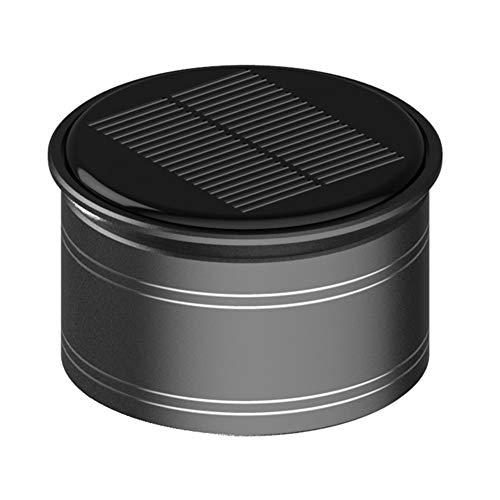 Accesorios para automóviles de Fragancia Difusor de aromaterapia Distribunicador de Aire Regalo Asiento de Perfume Girar Interior portátil Adornos de energía Solar (Color Name : Black A5)