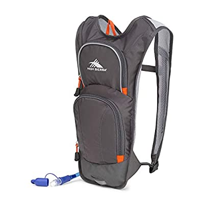 High Sierra HyrdaHike Hydration Pack, Mercury/Redline, 8L