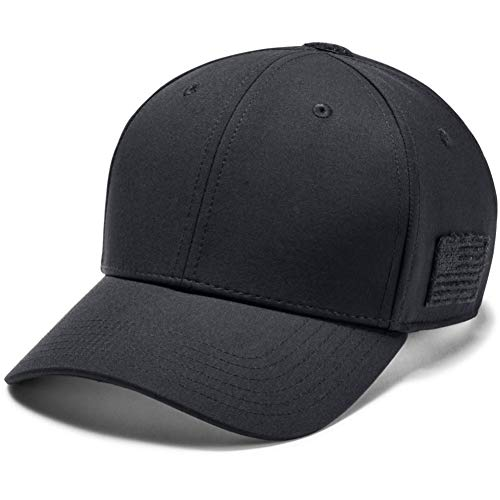 Under Armour Men's Men's Tactical Friend or Foe Cap 2.0, Black (001)/Black, Large/X-Large