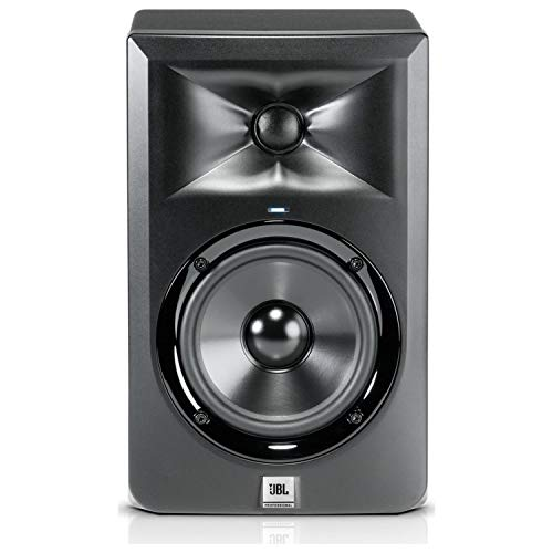 "JBL LSR305 Bi-amplified Studio Monitor with Magnetically-Shielded 5"" Low Frequen (Renewed)"
