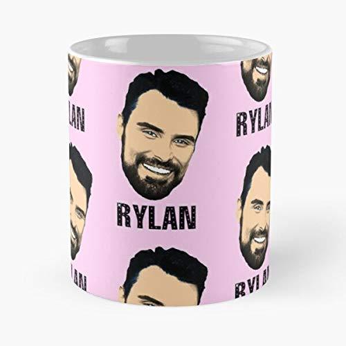 Episoftglobal Supermarket Factor British X Television Rylan Clark Sweep Personality Neal Celebrity Migliore Tazza da caffè Regalo 11 oz