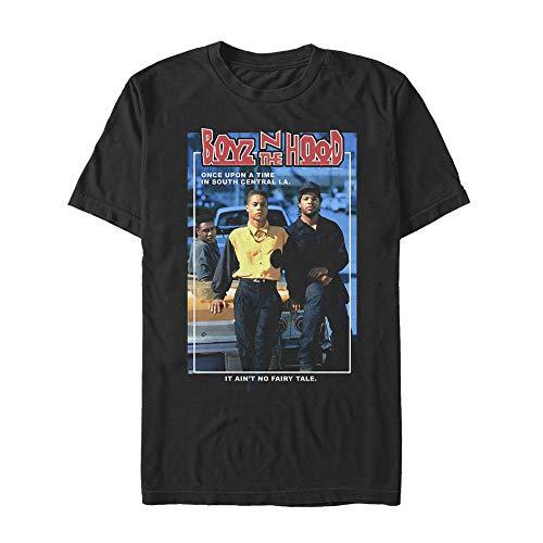 Fifth Sun Boyz n The Hood Men's Movie Poster Black T-Shirt
