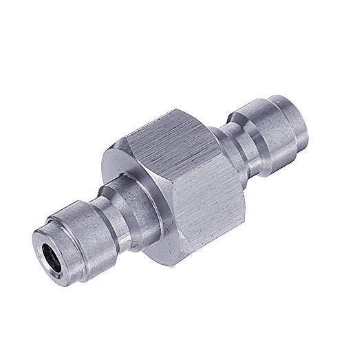 Adattatore da maschio a maschio in acciaio inox per montaggio a doppio maschio Quick Connect Adapter COD