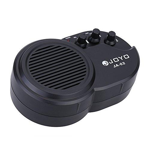 JOYO JA -02 3W Mini Guitarra Eléctrica Altavoz del Amplificador Amp con el Tono del Volumen Control de Distorsión