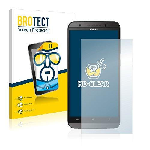 BROTECT Schutzfolie kompatibel mit BLU Win HD LTE (2 Stück) klare Displayschutz-Folie